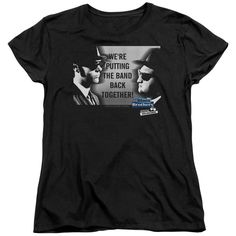 """Checkout our #LicensedGear products FREE SHIPPING + 10% OFF Coupon Code """"Official"""" Blues Brothers / Band - Short Sleeve Women's Tee - Blues Brothers / Band - Short Sleeve Women's Tee - Price: $29.99. Buy now at https://officiallylicensedgear.com/blues-brothers-band-short-sleeve-women-s-tee"""