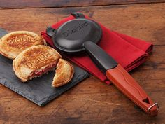 This toasted sandwich maker, discovered by The Grommet, reinvents the way you make a toasted sandwich, snack, and even desserts.