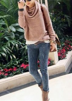 The Marker Boutique Mock Sweater