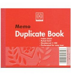 "Buy the new ""Silvine Duplicate Book Feint Ruled 4x5 603 Pk12""  online today. Now in stock."