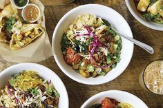 A fast-casual take on South Indian fare.