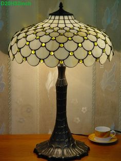 Pearl Tiffany Lamp	20S8-40T927