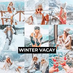 Winter Vacay - 3 Lightroom Mobile Presets for just €3,64 ✨-70%Discount!!! @dolcevitapresets #lightroompresets #lightroom #mobilepresets #presets #editpic #blogger #winter #wonderland #ukblogger #picsart Snow Pictures, Snow Mountain, Camera Settings, Lightroom Presets, Picsart, Winter Wonderland, Vsco, Poses, Board