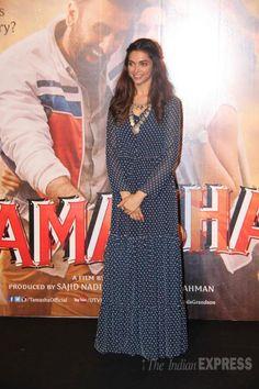 Deepika Padukone at the trailer launch of #Tamasha.