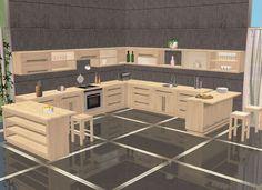 buggybooz Kitchen Basic - Möbel / Furniture - All4Sims.de