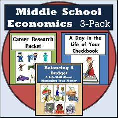 Think your students know how much money it costs to have the things they have at home?  If you teach Economics at the middle level or high school level then these activities really open the eyes of your students to the reality of budgeting their money, balancing a checking account, and choosing a career that meets their wants and needs.  I've used every one of these activities with 7th graders and they've done great with all of them!  Perfect if you teach middle school economics!