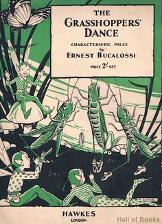 The Grasshoppers' Dance: Characteristic Piece, Ernest Bucalossi