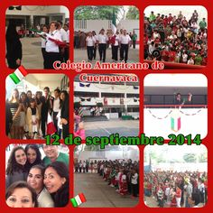 El pasado 12 de septiembre se llevaron a cabo las mañanitas mexicanas del Colegio Americano de Cuernavaca (CAC) en sus instalaciones de la avenida Teopanzolco.