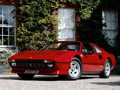 """One of the 10 most important Ferraris of all time: The Ferrari 308 GTS debuted in 1977 to great fanfare. The Pininfarina-designed, targa-top sports car was the car of choice on the '80s TV show """"Magnum P.I."""" As a result, the 308 is one of the more recognizable Ferraris ever built."""