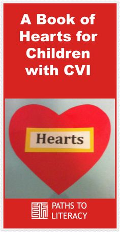 This book of Valentine hearts for children with CVI (cortical visual impairment) uses different textures on each page Montessori Baby, Valentine Activities, Literacy Activities, Visual Impairment, Valentine Hearts, Sensory Integration, Preschool Classroom, Student Teaching, Book Making