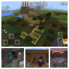 54 Best Minecraft pe seeds images in 2017 | Minecraft seeds