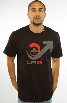 The Viscous Cycle Tee in Black by LRG