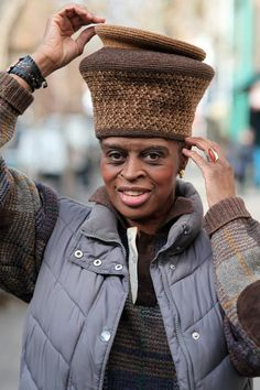 1f6cd5e546b The Advanced Style Ladies are known for wearing bold accessories and  wonderful hats.