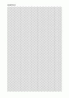 Plantilla isométrica de puntos - Buscar con Google Isometric Sketch, Isometric Paper, Printable Ruler, Printable Graph Paper, Maths Paper, Interesting Drawings, Math Patterns, Sketch Painting, Teaching Art