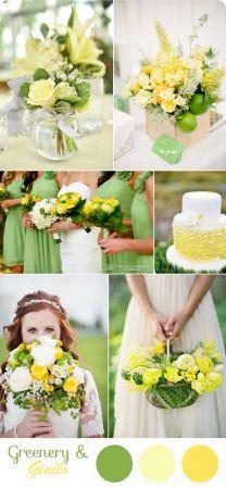 10 idee per un matrimonio Greenery