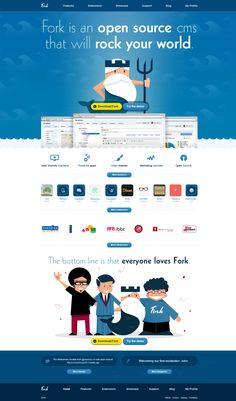 #Web Fork