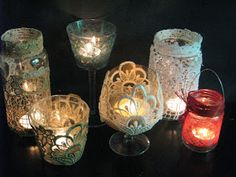 Ideas art for everyone, DIY - Joanna Wajdenfeld: Lanterns of the white and…