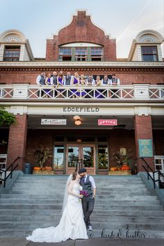 McMenamins Edgefield has so many lovely backdrops, both indoors and out.