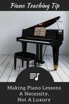 """""""Luxury Item No More""""… Making Piano Lessons a Necessity 