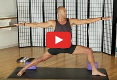 Follow along to get a great workout and learn some tiny tweaks that dramatically improve your poses. http://greatist.com/move/yoga-video-stronger-legs