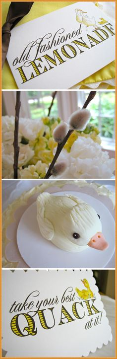 if you are looking for a cute baby shower theme -- click through for some major WOW factor.