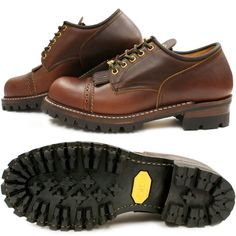 ecb99b3e1bb FOOTMONKEY  ローリングダブトリオ ROLLING DUB TRIO FORESTER LOW Forrester low brown  work boots men