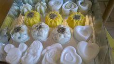 Saponette decorative al latte d'asina e fiori