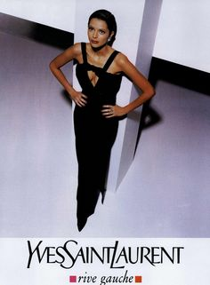 Yves Saint Laurent Rive Gauche Ad Campaign Fall/Winter 1994 Shot #1