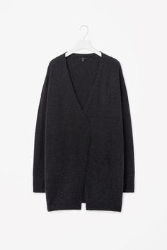 Wool cashmere cardigan