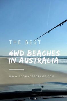 The Best Beaches in Australia - 50 Shades of Age Off Road Camping, Beach Camping, Fishing Australia, Australia Travel, Australia Places To Visit, Stockton Beach, Double Islands, Beach Shade, National Park Pass