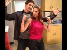 Another fun day in Salem! Photo via Kristian Alfonso. #DAYS