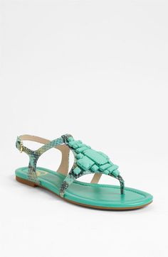 Joan & David 'Kadison' Sandal goes with many cute CAbi pieces!