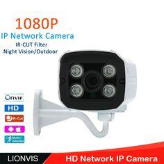 IP Camera 1080P 2.0 MP ONVIF CCTV Security Camera  Array Infrared Led Network P2P Outdoor Camera