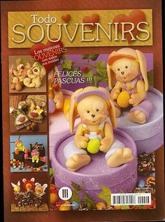 Pasta Flexible, Air Dry Clay, Biscuit, Gum Paste, Diy And Crafts, Miniatures, Teddy Bear, Handmade, Animals