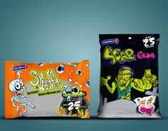 Packaging halloween 2010-2011 Colombina BY Claudia Murillas