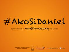 #AkoSiDaniel There are: 59 million primary-age out-of-school children around the world and 1.2 million of them are in the Philippines.   Factors preventing them from going to school: poverty, natural disasters, and conflict.  Education increases: women's and men's job opportunities.  Education reduces: child marriage and early births.  Education improves: maternal wellbeing and child nutrition.  Education leads to: economic  and sustainable development.  Donate: akosidaniel.org