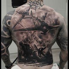 Small Back Tattoos, Cool Back Tattoos, Back Tattoos For Guys, Badass Tattoos, Trendy Tattoos, Lower Back Tattoos, Back Tattoo Men, Tatto Boys, Tattoo For Son