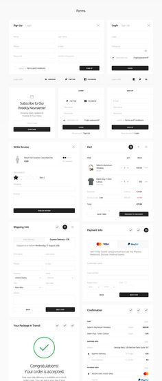 Buy Ease UI Components by kkuistore on ThemeForest. Ease UI Components is a stylish pack of strict yet modern UI components for web projects. This kit consists of 8 PSD. Web Design Websites, Online Web Design, Web Design Quotes, Website Design Services, Web Design Trends, Form Design Web, Web Design Tutorial, Web Design Company, App Design