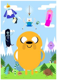 a little bit of Adventure Time.