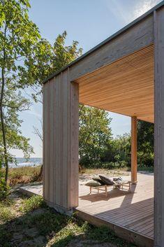Minimalism Living, Beddinge, Larch Cladding, Chief Architect, Swedish House, Baltic Sea, Saint Germain, Detached House, Pergola