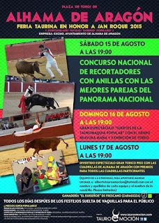 torodigital: Cartel para Alhama de Aragón