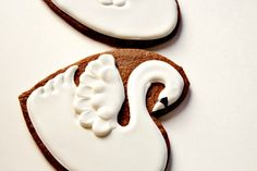 The Twelve Days of Christmas Cookie Project, Seven Swans a Swimming