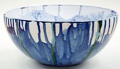 Ceramic bowls inspired by the Derbyshire landscape by Michaela Wrigley, via Behance