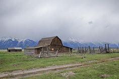 Stormy Barn by Jack R Perry