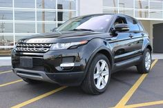 Nice Land Rover 2017: Long Island Cars For Sale: Used Black 2013 Land Rover Range Rover Evoque stk# U2...