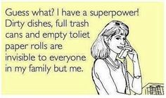 Guess what, I have a superpower!