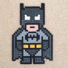 Batman hama perler beads by alana_f13