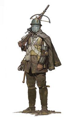 ArtStation - Character sketches 2, Simon Gocal