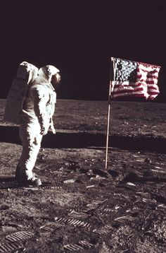 young-anarchist:    How is the flag waiving if there is noatmosphereon the moon? (CONSPIRACYTHEORY!)
