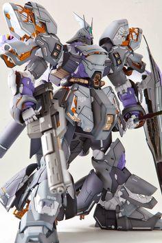 GUNDAM GUY: MG 1/100 Sazabi Ver.Ka - Painted Build